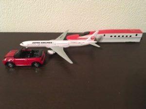 飛行機,新幹線,こまち,車,ミニクーパー