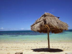 フィジーの海辺